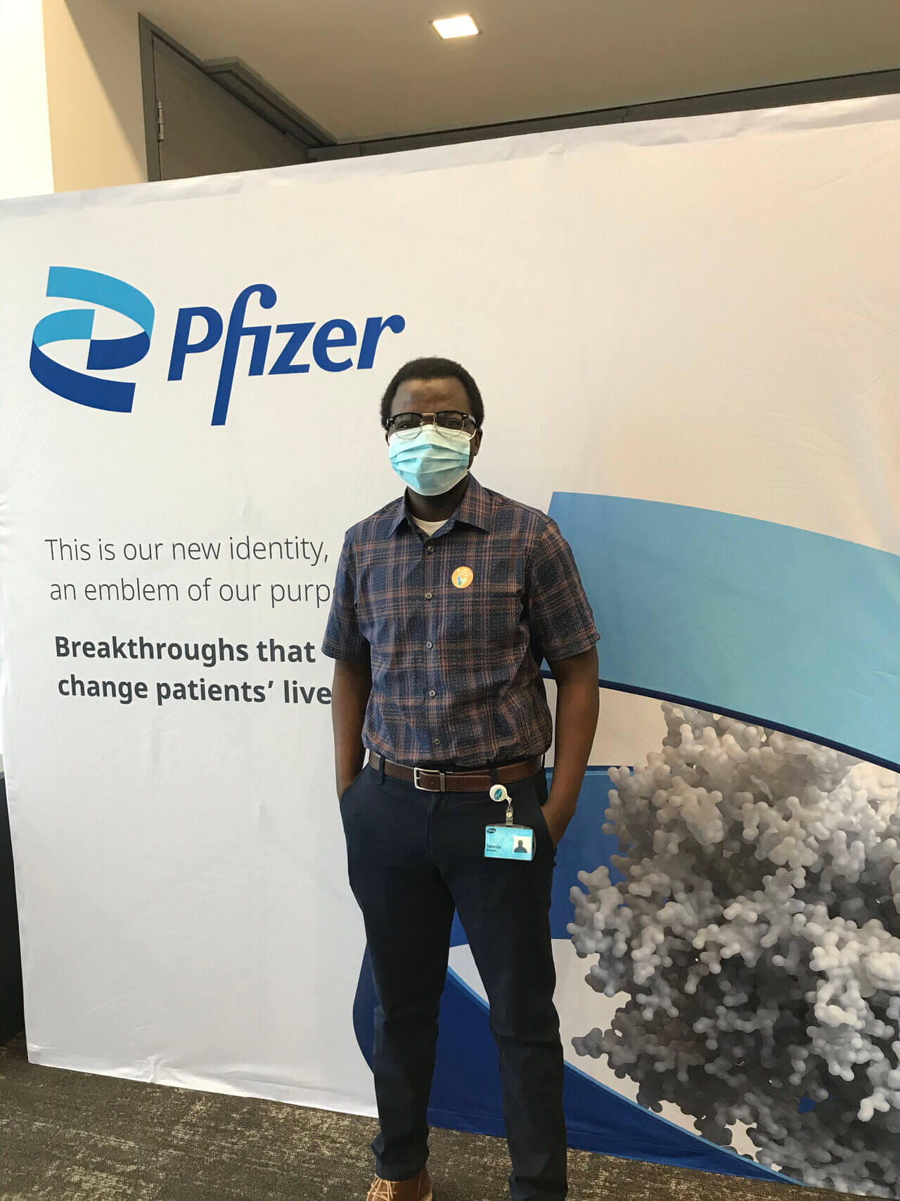 USAP Alum Spotlight: Tatenda Shopera: From USAP to Senior Scientist at Pfizer.